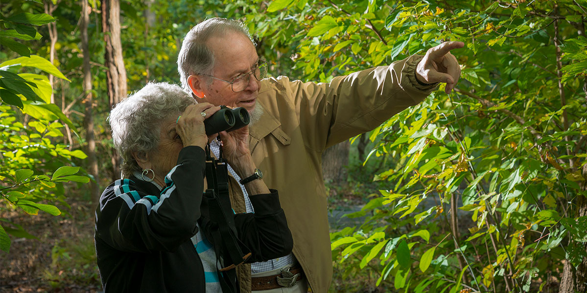 Residents Bird Watching