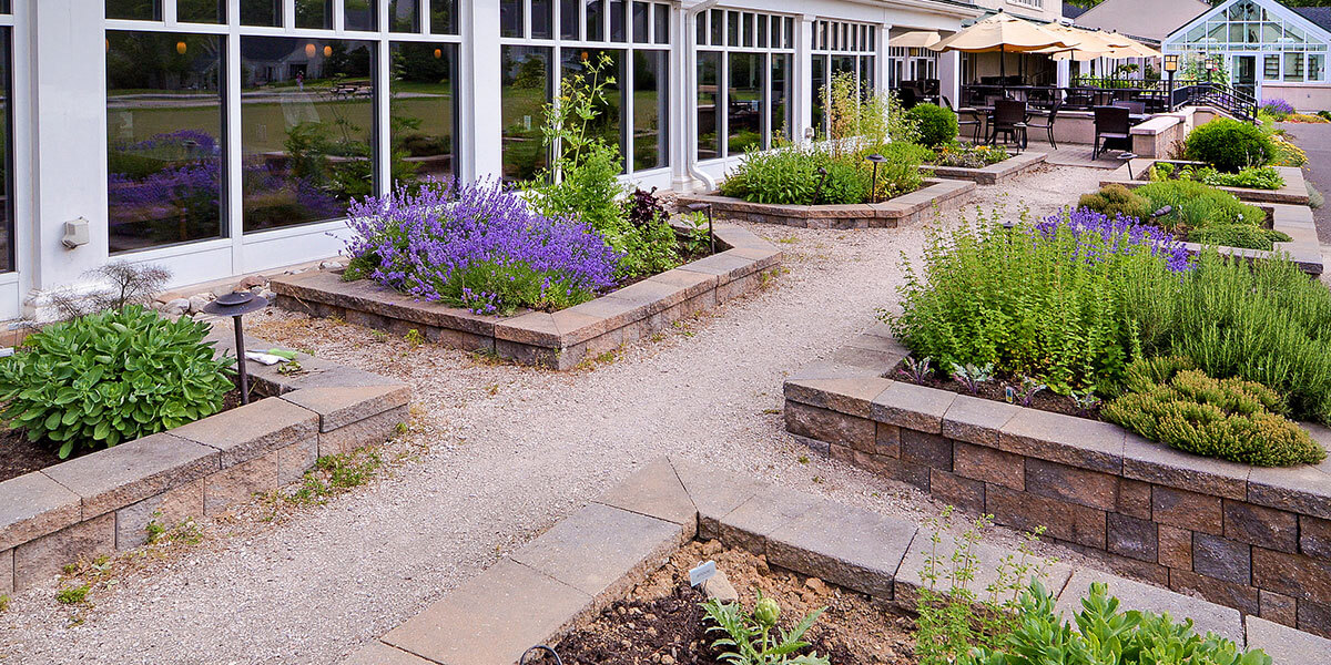 Herb Garden at Foulkeways