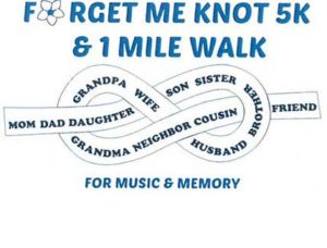forget me knot music & memory logo