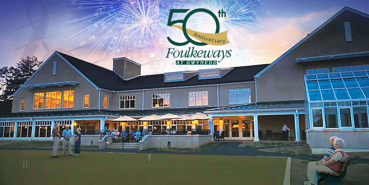 Foulkeways 50th Anniversary Fireworks Celebration