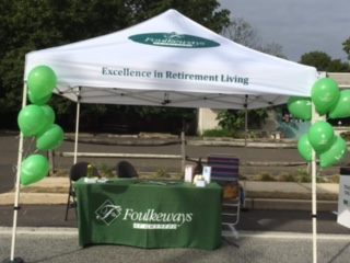 Foulkeways Booth at Pike Fest